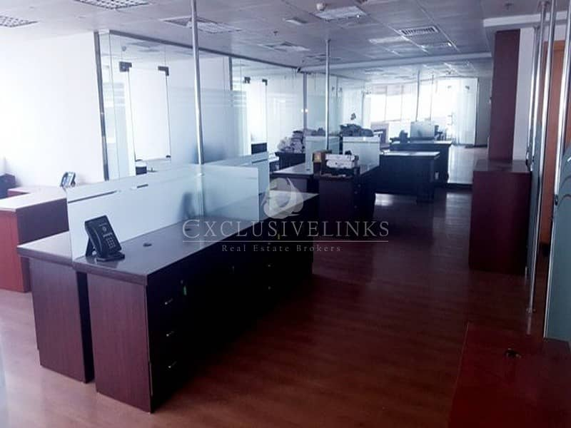 Vacant Furnished Office For Sale in JLT