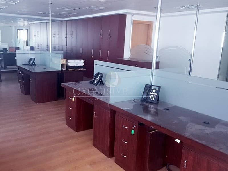 2 Vacant Furnished Office For Sale in JLT