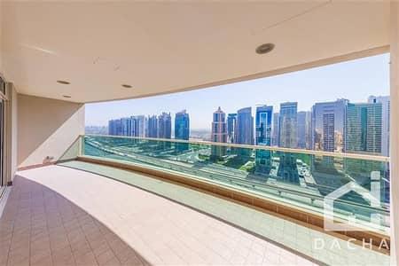 3 Bedroom Apartment for Rent in Dubai Marina, Dubai - Large 3 BR/Plus Maid Laundry and Terrace