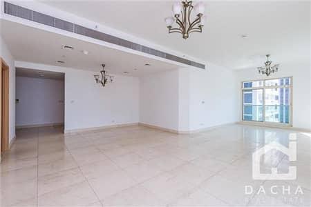 3 Bedroom Apartment for Rent in Dubai Marina, Dubai - Massive 3 Bed Apt + Maids + Balconies