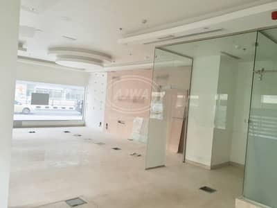 Shop for Sale in Dubai Marina, Dubai - FOR SALE - Retail shop for sale facing road with good rental income 9%