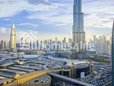 1BR Furnished Service Apartment with Burj Khalifa View