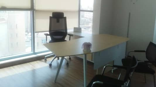 Fully Serviced Sharing Office space  affordable price  in Business Bay just in 12000/=AED FOR WHOLE YEAR.