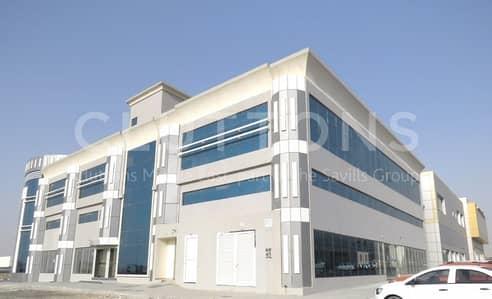 Showroom for Rent in Industrial Area, Sharjah - Brand New G+M Showroom in Maliha Road
