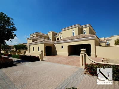 6 Bedroom Villa for Sale in Arabian Ranches, Dubai - Front Row   Upgraded Type F Polo Homes