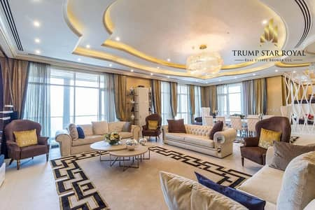 5 Bedroom Penthouse for Sale in Business Bay, Dubai - Exquisite Penthouse at Churchill Business Bay