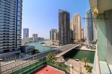 1 Bedroom Flat for Sale in Dubai Marina, Dubai - Marina View 1Br in The Waves B Dubai Marina