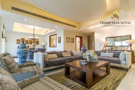 4 Bedroom Villa for Rent in Dubai Marina, Dubai - Fully Upgraded Full Marina 4+M Villa In Emaar Six Towers
