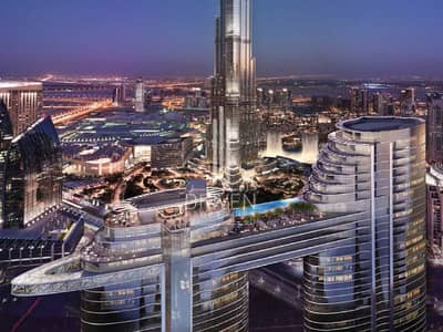3 Bedroom Flat for Sale in Downtown Dubai, Dubai - Hotel Serviced Apartment - No Commission