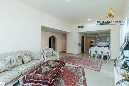 2 Bedroom Flat for Sale in Dubai Marina, Dubai - Huge Fully Furnished 2 Br Ap in Marina