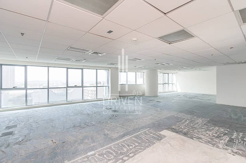 Bright Office Space Semi-Fitted in TECOM