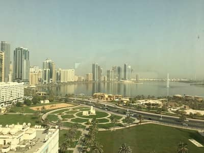 1 Bedroom Apartment for Rent in Al Majaz, Sharjah - 1 Master BedRoom  -  Free AC  -  Opposite AL MAJAZ Park ( Buhairah Cournish - 30000 One Month Free )