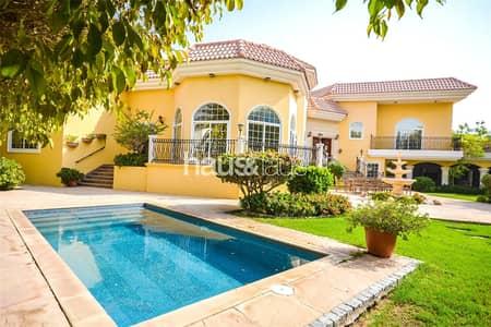 فیلا 6 غرف نوم للايجار في البرشاء، دبي - 6 BR | Stunning landscaped garden| Pool