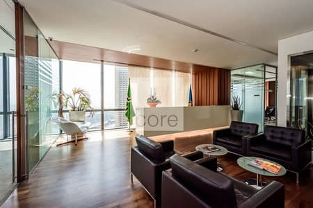 Office for Rent in Downtown Dubai, Dubai - Fitted furnished office ready to move in