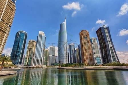 2 Bedroom Apartment for Sale in Jumeirah Lake Towers (JLT), Dubai - 2 Bedroom+Maid Higher Floor Full Lake View for Sale-JLT