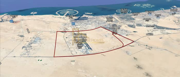Plot for Sale in Dubai World Central, Dubai - G+4 Residential Plot in Dubai World Central (DWC) at competitive price