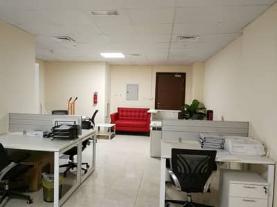 Very nice Fitted office for rent in Dubai Silicon Oasis.
