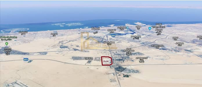 Mixed Use Land for Sale in Dubai Residence Complex, Dubai - G+17 Mix Use Plot in Dubai Land Residence with Total GFA of 245