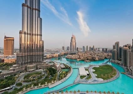 Burj Khalifa and Fountain Views|Southridge 3 Downtown Dubai