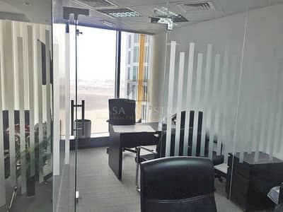Fitted Office w/ Partition Ready to move