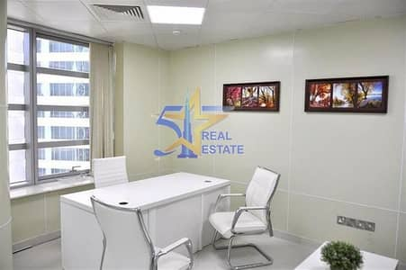 sharing furnished office in business center business bay
