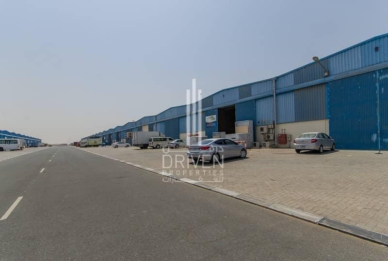 14 Multiple warehouse units in Dubai Industrial City.