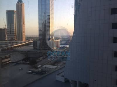 Office for Sale in Business Bay, Dubai - Fitted Office on the Main road near Metro Station