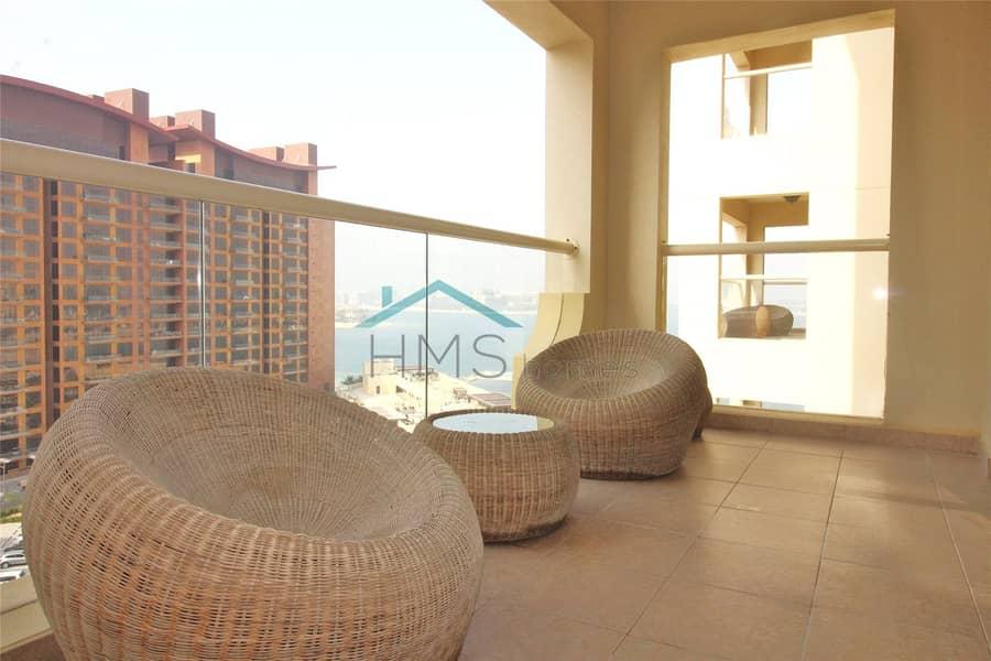 luxurious furnished   1 Bed   Shoreline   Al Bas