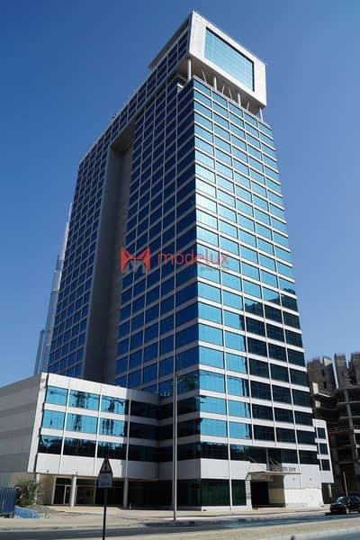 Office for Sale in Business Bay, Dubai - Fitted Office for Sale in Clover Bay Tower with an Amazing View