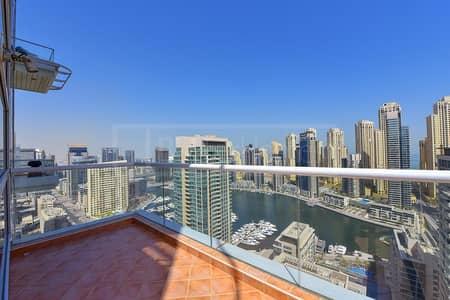 Vacant   High Floor   Marina and Sea Views