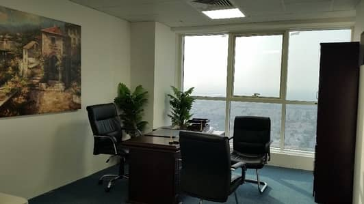 SERVICED OFFICE ! ! ON SHEIKH ZAYED ROAD