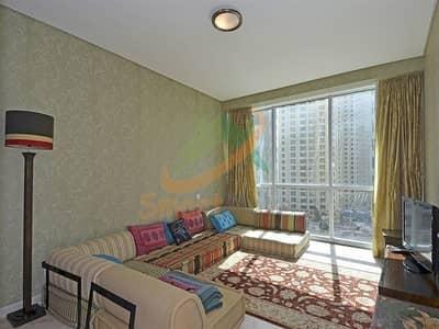 شقة 2 غرفة نوم للبيع في مساكن شاطئ جميرا (JBR)، دبي - Large 2 Bhk+Hall in Al Fattan Marine Tower