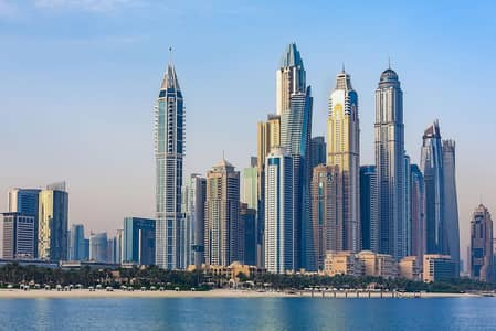 3 Bedroom Apartment for Rent in Dubai Marina, Dubai - A Dubai Marina supertower comprising of breathtakingly elegant 3 bedroom contemporary