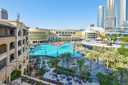 2 Bedroom Flat for Rent in Downtown Dubai, Dubai - 2+Study - Full Lake View - Fully Furnished