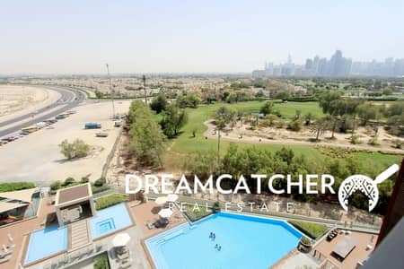 3 Bedroom Flat for Rent in The Views, Dubai - 3 bedrooms with pool view in Panorama T2
