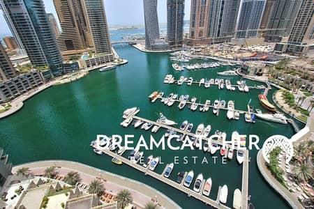 2 Bedroom Apartment for Rent in Dubai Marina, Dubai - Beautiful 2 bed.ap with full Marina View