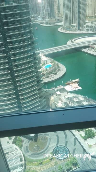 2 Bedroom Apartment for Rent in Dubai Marina, Dubai - 2b.ap Sh. Zaed Road view