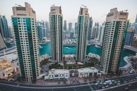3 Bedroom Flat for Sale in Dubai Marina, Dubai - 3beds+study marina view in Trident Grand
