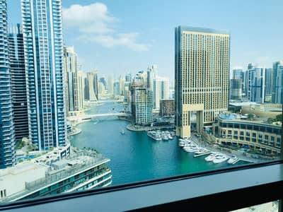 2 Bedroom Apartment for Rent in Dubai Marina, Dubai - Full Marina View Ready to Move in  2BR w/ Balcony
