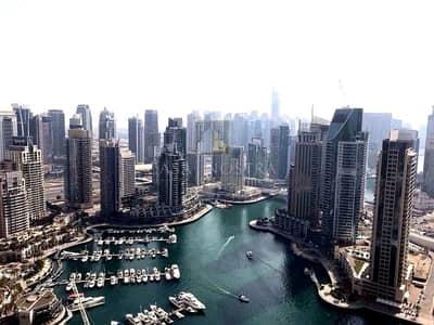 3 Bedroom Flat for Sale in Dubai Marina, Dubai - 3BR with balcony Facing Full Marina View