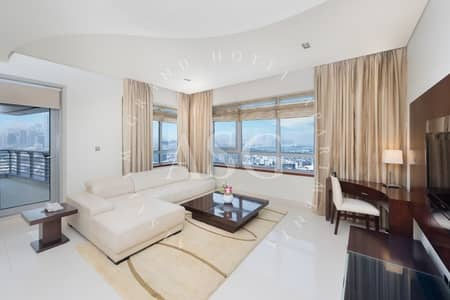 2 Bedroom Apartment for Rent in Dubai Media City, Dubai - One Month Free-Serviced Apt-Bills Included