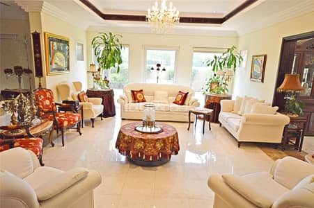 5 Bedroom Villa for Rent in The Lakes, Dubai - Un-furnished | Available Now | Landscaped