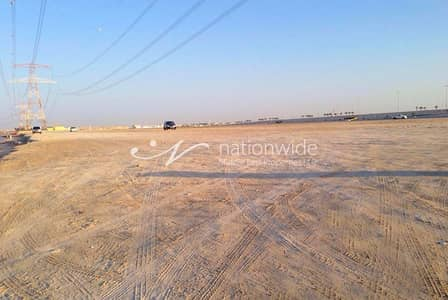 Plot for Sale in Khalifa City A, Abu Dhabi - Invest in this Huge Land Commercial in KCA