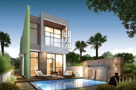fully furnished and serviced villas with a closer delivery date