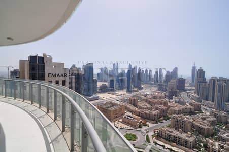 2 Bedroom Apartment for Rent in Downtown Dubai, Dubai - Burj & Fountain View I High Floor I Multiple Ceques