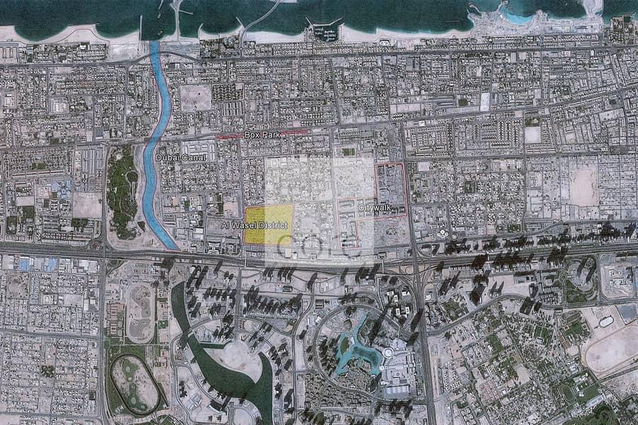 10 Largest Plot  14023 sqft  Al Wasl District