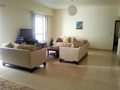 فلیٹ 1 غرفة نوم للبيع في مساكن شاطئ جميرا (JBR)، دبي - Spacious & Bright - Partial Marina View - Vacant Soon