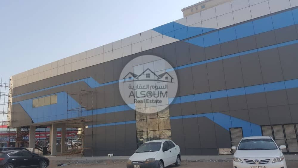 BRAND NEW SHOWROOM / SHOPPING MALL FOR RENT IN PRIME LOCATION OF AJMAN  - ON MAIN ROAD WITH PARKING