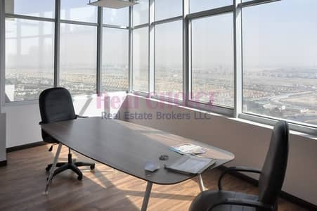 Rented Unit|Fitted Office with Partition