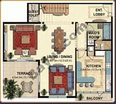 3 Bedroom Duplex Apt